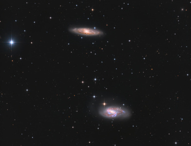 M 65 and M 66