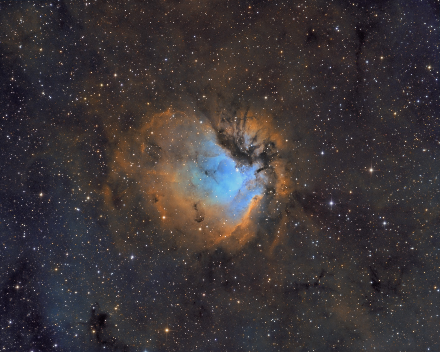 Sh2-112 in Hubble Palette